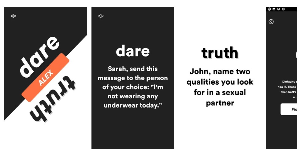 dirty truth or dare game app